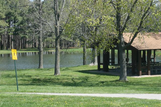 Lakeside Pavilion Konarcik Park Waterloo Illinois